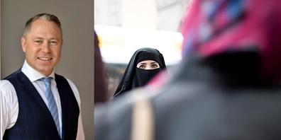 """Dr. Gut: """"Am 7. März sind insbesondere auch die Schweizer Feministinnen aufgerufen, Ja zum Verhüllungsverbot zu stimmen."""""""