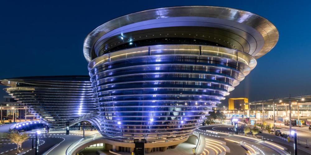 HANDOUT - Als erster arabischer Gastgeber lädt Dubai im Oktober zur Expo. Foto: Suneesh Sudhakaran/-/dpa - ACHTUNG: Nur zur redaktionellen Verwendung im Zusammenhang mit der aktuellen Berichterstattung über die Expo 2020 in Dubai und nur mit volls...