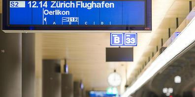 Die Bahnhöfe waren 2020 leerer als sonst: Das schlägt sich in der Rechnung des Zürcher Verkehrsverbundes nieder. (Symbolbild)