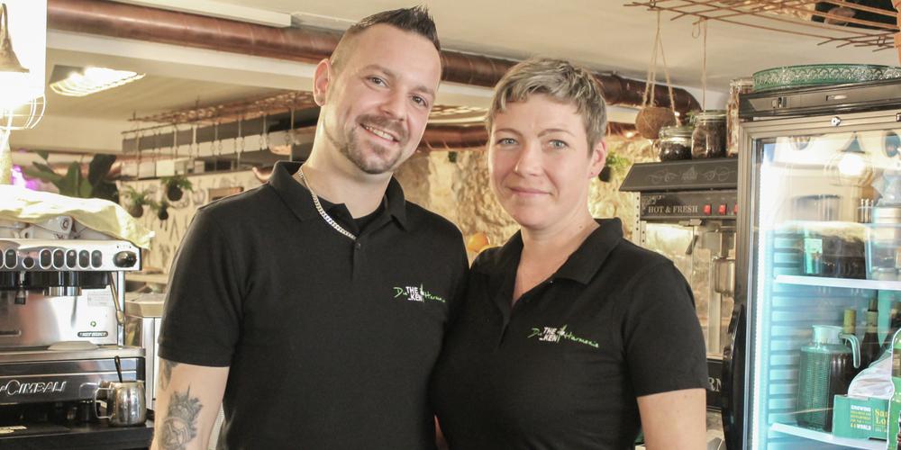 Die Köchin Christina Fischer und der Koch Martin Spanihel konnten sich mit der Bar einen grossen Traum erfüllen.