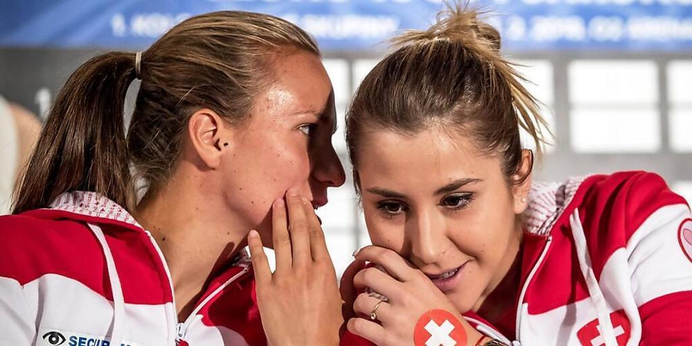 Viktorija Golubic und Belinda Bencic vertreten in Tokio die Farben von Swiss Tennis
