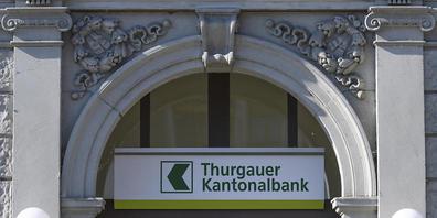 Die Thurgauer Kantonalbank konnte am Dienstag positive Halbjahreszahlen präsentieren. (Archivbild)