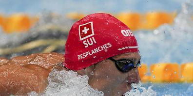 Der Traum von einer Olympia-Medaille lebt: Jérémy Desplanches steht mit der fünftbesten Zeit im Olympia-Final vom Freitagmorgen