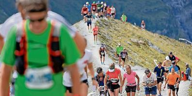 Der Jungfrau-Marathon konnte bei grossartigem Wetter und mit zahlreichen Teilnehmern über die Wettkampfbühne gehen.