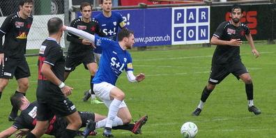 Daniel Lässer war nach seiner Verletzung im Cupspiel gegen die Grasshopper erstmals wieder für eine halbe Stunde im Einsatz