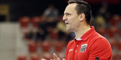 Bei Pfadi Winterthur geht es vorwärts: Trainer Goran Cvetkovic darf zufrieden sein