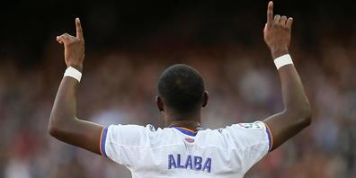 David Alaba ist nach seinem Tor im Clásico nicht unglücklich