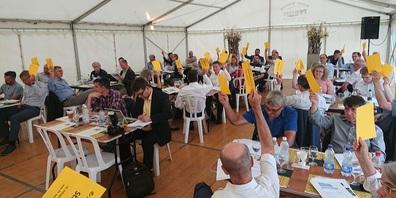 21. DV von Regio Wil im Festzelt des Köhlerfests auf der Hochwacht in Sirnach.