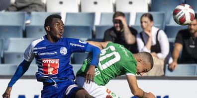 Erlösung für Torschütze Ibrahima Ndiaye und den FC Luzern: Gegen St. Gallen gab es den ersten Saisonsieg