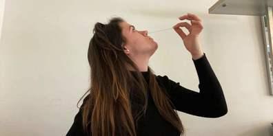 Online-Redaktorin Linda Barberi testete den Gratis-Schnelltest aus der Apotheke. Fazit: Einfach und schnell.