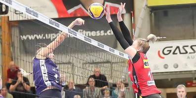 Mit dem 3:2 Sieg gegen Volley Düdingen feiert der VC Kanti den zweiten Sieg in dieser Saison.