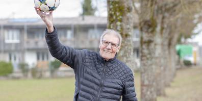 Heute fühlt sich der 75-jährige René Deck in Schaffhausen zuhause.