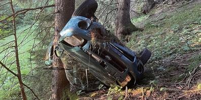 Der Unfall dürfte sich einige Zeit vorher ereignet haben.