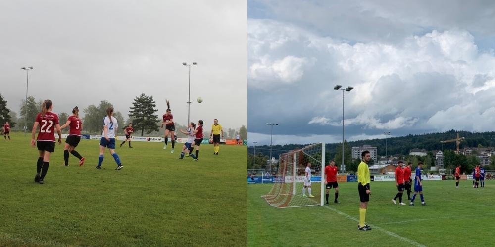 Sowohl die 1. Mannschaft der Frauen wie auch die der Männer des FC Uznach agierten am Wochenende in einem Meisterschaftsspiel.
