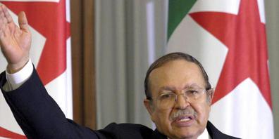 ARCHIV - Der ehemalige algerische Präsident Abdelaziz Bouteflika in Algier. Jetzt ist er im Alter von 84 Jahren gestorben. Foto: Uncredited/AP/dpa