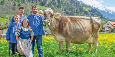 Über 100000 Liter Milch hat die Kuh Katrin in ihrer Karriere bisher produziert.