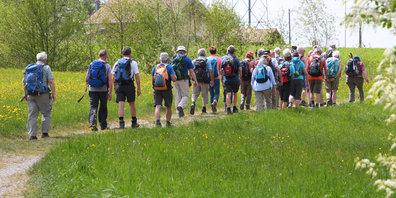 ZÄMEGOLAFE Grüningen bietet regelmässige Spaziergänge durch die Gemeinde.