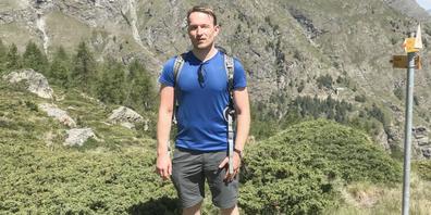 Urs Suter liebt es, in der Natur unterwegs zu sein. Neben der Vielfalt des Meeres, erfeut er sich immer wieder an der Schönheit der Schweizer Berge.