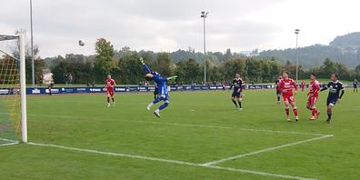 Am letzten Sonntag kickte der FC Uzwil den FC Baden aus dem Cup.