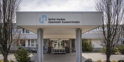 Das Spital in Heiden AR wird geschlossen. Für die Abwicklung ist ab August interimistisch ein neuer Geschäftsführer des Spitalverbunds zuständig. (Archivbild)