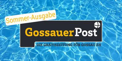 Die 'Gossauer Post' erscheint gratis in sämtliche Haushalte der Gemeinde Gossau ZH.