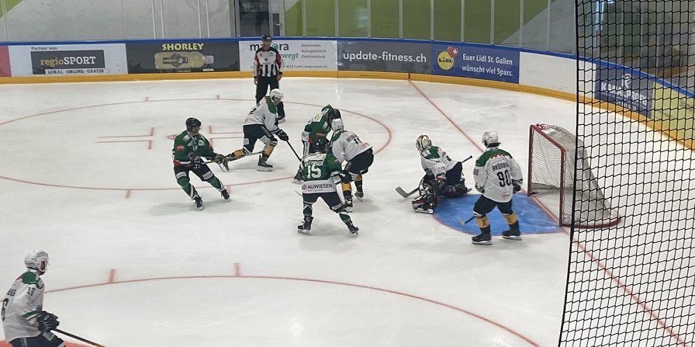 Im ersten Saisonspiel gibt es für den EC  Wil keine Punkte  Bild: wil24.ch