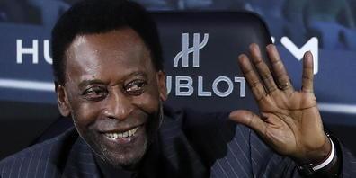Pelé befindet sich nach einer Darm-Operation seit über zwei Wochen in Spitalpflege