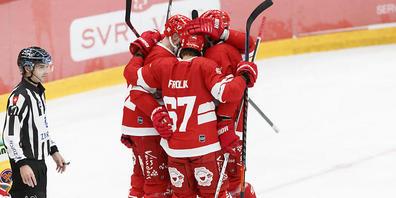 Lausanne freut sich über den Sieg über Biel, das erst zum zweiten Mal diese Saison auswärts verlor