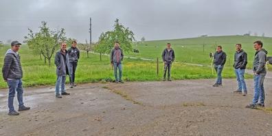 Ein Thema des Besuchs war die einseitige Wahrnehmung, welche die Bevölkerung von der Landwirtschaft hat.