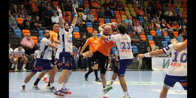 Granollers erwies sich in der Qualifikationsrunde der EHF European League als hartnäckiger Gegner. Nun wartet Sporting Lissabon in der ersten Gruppenphase auf die Orangen. (Archivbild)