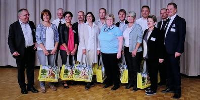 Die regionalen Juryteilnehmer bei der Preisverleihung 2017