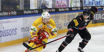 Michael Hügli erzielte den einzigen Treffer der Partie