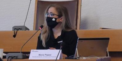 Stadtpräsidentin Maria Pappa wehrte sich gegen die Vorwürfe. (Archivbild)
