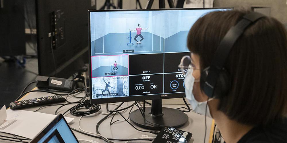 Auch Tanzstunden wurden via die online Plattform Zoom durchgeführt. (Archivbild)