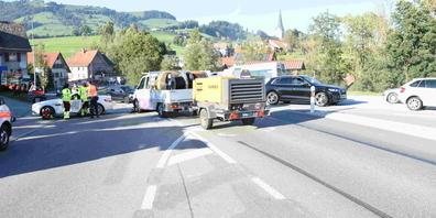 Auf dem Ricken kam es am Donnerstag zu einem Unfall.