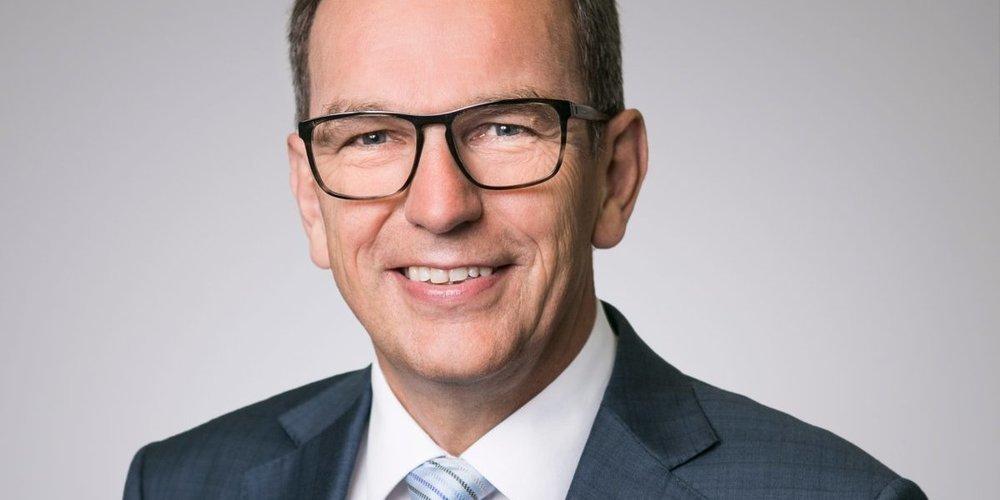 Regierungsrat Bruno Damann, Vorsteher des Gesundheitsdepartementes