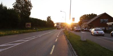 Unfallort: Zürcher Strasse