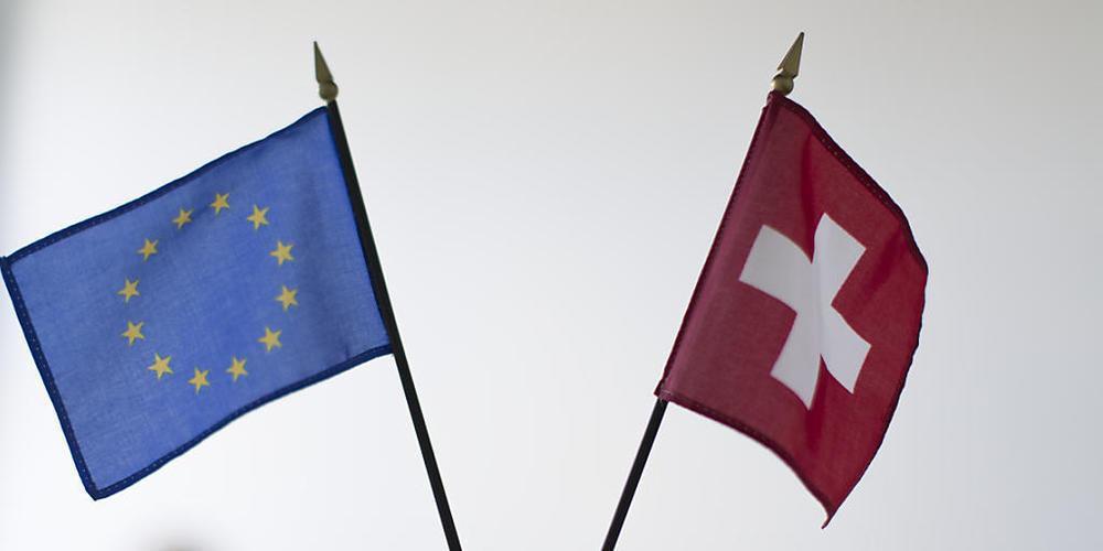 Die Beziehung Schweiz-EU steht am kommenden Dienstag auf der Agenda der Europaminister. (Archiv)