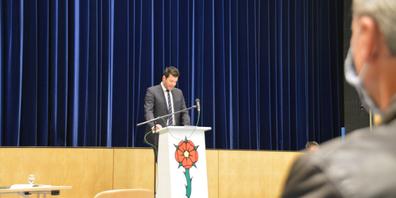 Säckelmeister Markus Suter wird die Gründe für die Steuersenkung am 24. November vortragen.