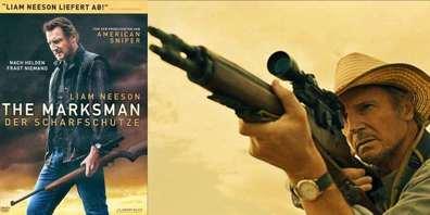 Im Film «The Marksman» (Der Scharfschütze) legt sich Liam Neeson als Vietnamveteran mit einem brandgefährlichen Kartell an.