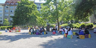 «Mobile. das Freiluftparlament» im St.Leonhardspärklein 15. Juni 2021