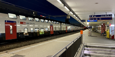 Während des Tages kein Problem, aber zu später Stunde werden Bahnhöfe gemieden .