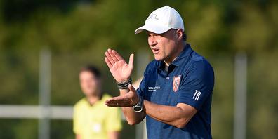Francesco Pappone ist klar, dass der FC Lachen/Altendorf unter Zugzwang ist.