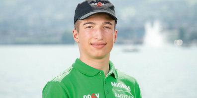 Niklas Lötscher aus Untervaz schaffte es in seiner Kategorie auf Rang 18.