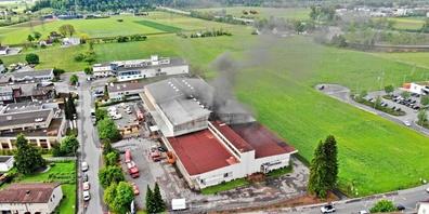 Der Brand in Uznach dürfte auf eine defekte Lüftung zurückzuführen sein.