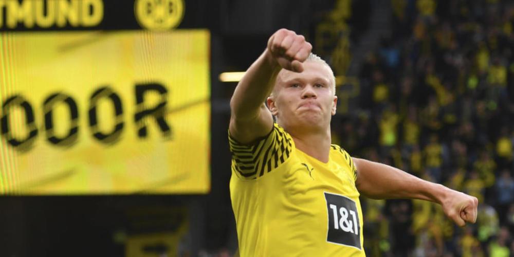 Auf ihn kann sich Borussia Dortmund verlassen: Erling Haaland erzielte gegen Union Berlin zwei Tore