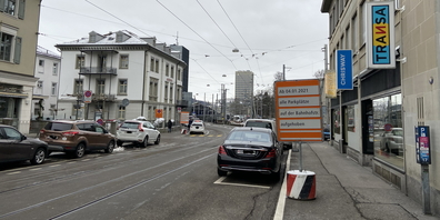 Bald Vergangenheit: Zentrumsnahes Parkieren an der Bahnhofstrasse