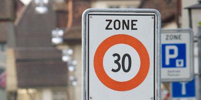 Die Gemeinde informiert über die Tempo30-Pläne in den Quartieren. (Symbolbild)
