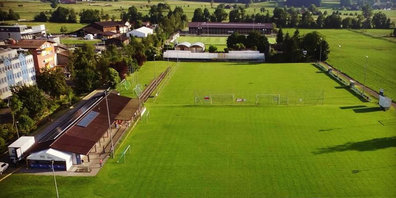 Spielfeld des FC Gossau ZH