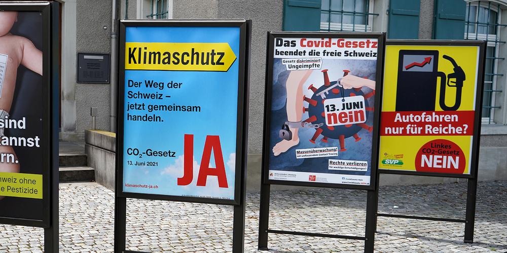 Am 13. Juni wird in der Schweiz unter anderem über da CO2-Gesetz abgestimmt.
